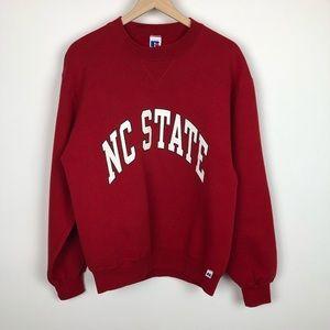 Vintage NC State Crewneck. Medium.